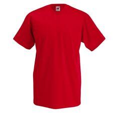 4er Pack Herren T-Shirt V-Ausschnitt FRUIT OF THE LOOM V-Neck-Tee 61-066-0 NEU