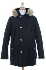 Woolrich John Rich & Bros. Men's Arctic Parka DF Black Size L (No Fur)