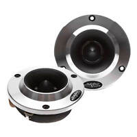 NEW SKAR AUDIO VX200-ST 1.8-INCH 400 WATT ALUMINUM BULLET SUPER TWEETERS - PAIR