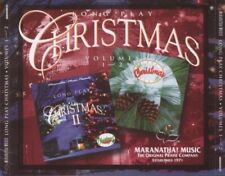Maranatha! Music: Long Play Christmas Volumes 1 & 2 w/ Artwork MUSIC AUDIO CD