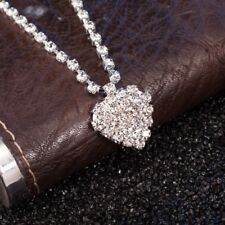 Chain Not Bracelet Brand New Diamante Rhinestone Anklet With Heart Ankle