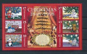D118976 Guernsey S/S MNH Christmas 1998