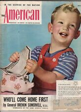 1945 American July - Bing Crosby; Poland; Nazi Supermen dig ditch; Man o' War;