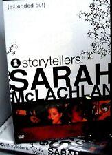Sarah McLachlan - VH1 Storytellers Music DVD, NEW! Angel, Concert ,Folk