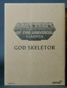 OOP Super 7 MOTU Classics William Stout God Skeletor UNOPENED NIB HE-MAN MOVIE