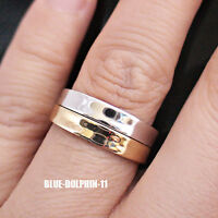 Genuine Solid 9ct Yellow White Gold Curve Engagement Wedding 2 Rings Set bands