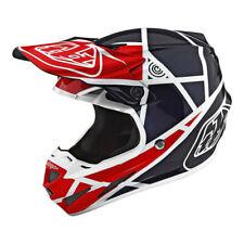 2019 Troy Lee Designs SE4 Composite Metric Red / Navy XL MX Helmet Motocross TLD