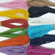 El aclaramiento 12ply algodón Bakers Twine Cuerda 5//10M 2mm en 38 Colores Divina