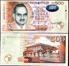 MAURITIUS 500 RUPEES 2007 P 58 UNC