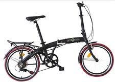"""Ecosmo 20"""" Wheel Lightweight Alloy Folding Bicycle Bike 7 SP, 12kg - 20AF09BL"""
