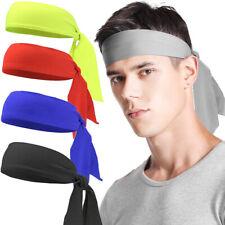 Sports Yoga Men Hair Band Women Tie Back Headband Spandex Hair Tie Sweatbands