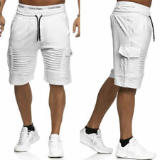 Mens Cargo Shorts Pants Casual Army Combat Camo Summer Camping Trousers Bottoms