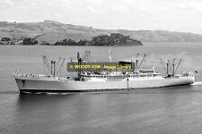mc0202 - Port Line Cargo Ship - Port Sydney , built 1955 - photo 6x4