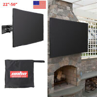 """Outdoor TV Cover BOTTOM COVER Weatherproof Dust-proof  Microfiber Cloth 24""""-50"""""""