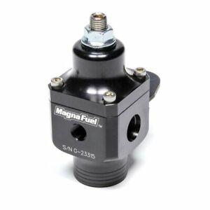 MAGNAFUEL Universal Fuel Pressure Regulator Race Black MP-9633-BLK 2 port NEW