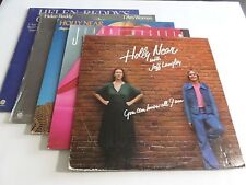 Lot Of 5 Female Vocal LP Wholesale Helen Reddy Holly Near Vinyl Record