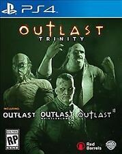 🔥Outlast Trinity (Sony PlayStation 4, 2017) PS4 NEW Factory Sealed fast ship.
