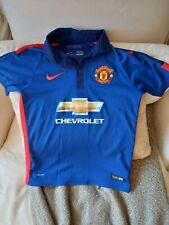 Manchester United 2014 2015 Shirt jersey kit third blue football top