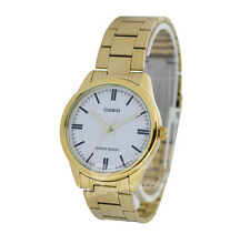 -Casio MTPV005G-7A Men's Analog Metal Watch New & 100% Authentic