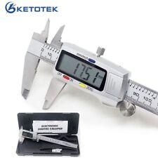 150mm Electronic Digital Caliper 6 Inch Stainless Steel Vernier Caliper Gauge