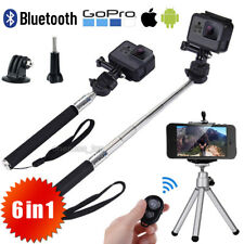 Monopod Selfie Stick Handheld Tripod Bluetooth Shutter For iPhone X 8 Samsung S7