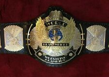 WWF WINGED EAGLE DUAL PLATED ADULT CHAMPIONSHIP BELT REPLICA 4MM  METAL