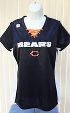 NFL CHICAGO BEARS Women's V-neck Short Sleeve Shirt, Size Medium, NWOT