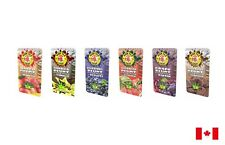 High Tea Leaf Self Rolling Hemp Wraps - Variety Bundle of 6 Mixed Flavours