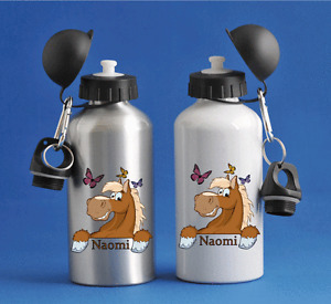Horse - Personalised Kids/Drinks/Sports Childrens Water Bottle