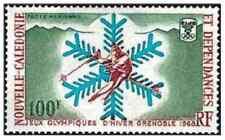 Timbre Sports d'hiver JO Nouvelle Calédonie PA96 ** lot 24189 - cote : 17 €