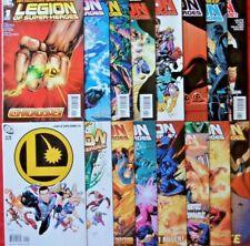 LEGION OF SUPER-HEROES  COMPLETE SET 1-16  PAUL LEVITZ   DC  2010  NICE!!!