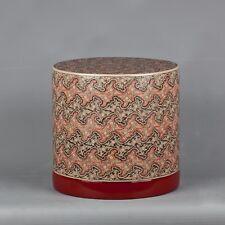 "Burmese Lacquerware 'Cloud Design' Betel Nut Box - 20.5cm/8"" Tall"