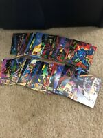 1995 Marvel Masterpieces Parallel Signature EMOTION cards 36 cards pick yours!
