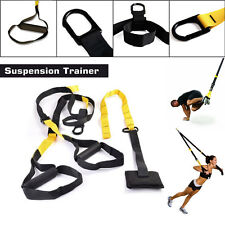 Suspension Training Bodyweight Exercise System Fitness Strapes Gym Same as TRX