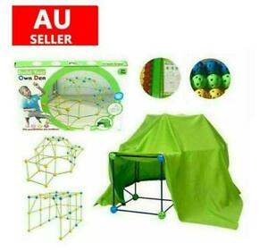 Building Your Own Den Kit Play Construction Fort Tent Making Set Builder Toy