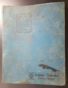 Jaguar Daimler Service School Course Notes Folder, c 1975, With Course Papers