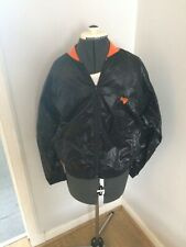 Vintage Gola Shell Suit Style Top Small Mens 70/80s Black Orange