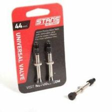 Stans No Tubes 35mm Presta Universal Valve Stem Carded Pair for Mountain