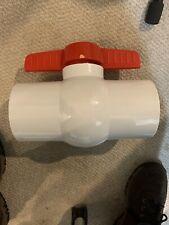 Ledgend 4-Inch PVC Slip Ball Valve 201-411