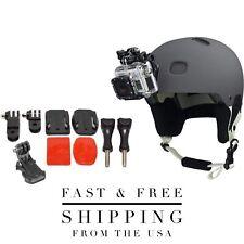 GoPro Helmet Mount Bundle W/ Adhesive Pads For GoPro Hero 3,4,5,6,7, 8 + Session
