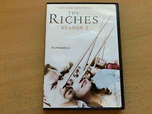 The Riches Season 2 Second Series Two Minnie Driver (DVD 2-Disc 2007) R4 GC