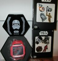 Nixon Star Wars Red Sith Stormtrooper Scentsy Baby Yoda & Pin MIB $125