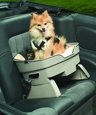 Traveling Travel Dog & Cat Elevated Pet Car Safety Harness Seat - Booster Seat