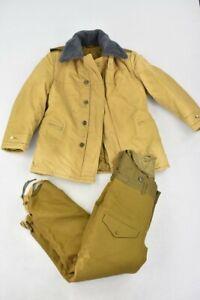Original Vintage Russian Soviet Army Field Military Men's Uniform Winter