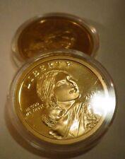2004 S Native American 24 KT GOLD*Sacagawea Dollar*Deep GEM Cameo US Proof Coin