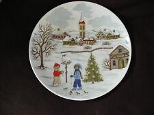 AK Kaiser Porzellan - Weihnachtsteller Motiv 6