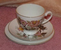 VINTAGE ROYAL GRAFTON BONE CHINA TRIO