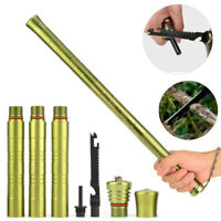 Outdoor Defense Safety Stick Rod Telescopic Poles Retractable for Camping Travel