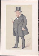 Vanity Fair - Mr. TB Potter MP. 309 - 1877 - Colored Lithograph Original Rare