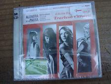 Alondra de la Parra CD+DVD TRAVIESO CARMESI Ely Guerra Natalia Lafourcade NEW
